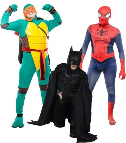 Аниматоры Супергерои, Бэтмен, Человек-Паук, Черепашки-ниндзя, Мармелэнд, Красноярск